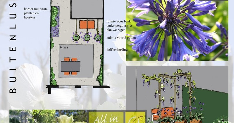 Voorbeeld tuinen, ook het mooie Tuinontwerp buitenlust
