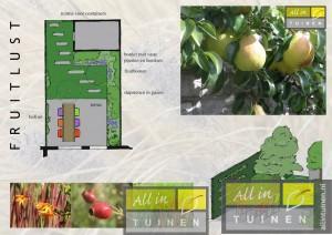 Voorbeeld Tuinen: Tuinontwerp Fruitlust