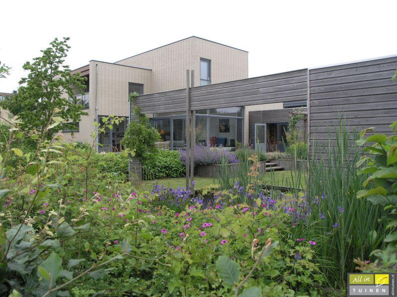 Plantrijke tuin tuin met weinig onderhoud onderhoudsvriendelijke